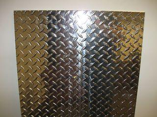 125 1/8 Aluminum Diamond Tread Floor Plate 24 x 48 3003 B209