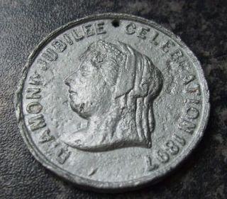 UNOFFICIAL QUEEN VICTORIA DIAMOND JUBILEE MEDAL 1897