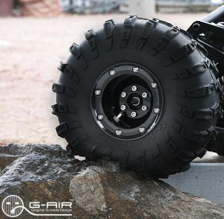 RC 1/10 ROCK CRAWLER 2.2 WHEELS G AIR ADJUSTABLE AIR PRESSURE SYSTEM
