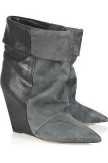 ISABEL MARANT Amely Suede Leather Boot Sz 40 8.5 9 SOLD OUT