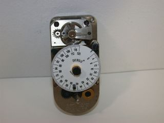 DIEBOLD TIME LOCK BANK VAULT 120HR SAFE TIMER MOVEMENT CLOCK #39