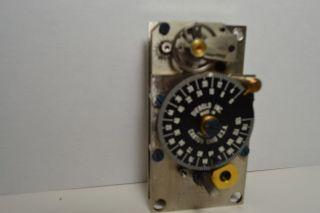 DIEBOLD 00 017906 0 00 TIME LOCK BANK VAULT 120HR SAFE TIMER MOVEMENT