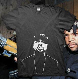 ICE CUBE   High Quality Cotton T Shirt   NWA Friday EAZY E Dr. Dre