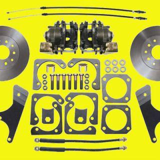Gm Rear Disc Brake Conversion Kit A & F Body 10 & 12 Bolt Non
