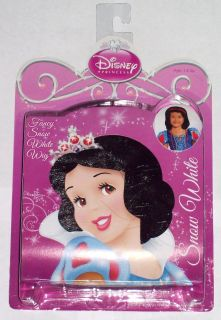 Disney Princess SNOW WHITE & Seven Dwarfs WIG Costume Dress Up Hair