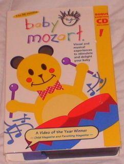 Disney Baby Einstein Baby Mozart VHS Video 1 36 Months