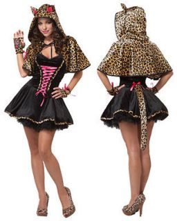 Teen Cats Meow Cheetah Kitty Halloween Costume