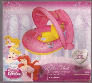 DISNEY ~ PRINCESS ~ KIDS POOL FLOAT W/ CANOPY {nib}