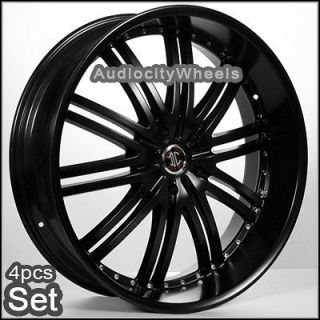 22 Inch Black Wheels Rims Dodge Charger Challenger Chrysler 300C