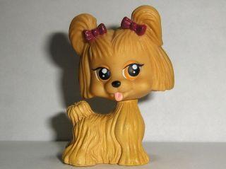 My Pet Pals Puppy Dog Toy PVC Figure Lhasa Apso Shih Tzu Chic Boutique