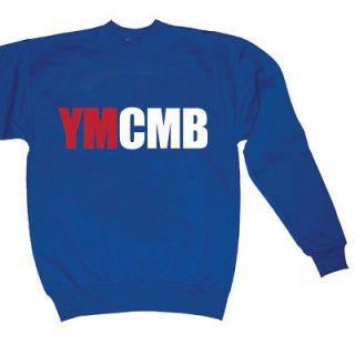 YMCMB SWEAT SHIRT WEEZY WAYNE SHIRT YOUNG MONEY ROYL SM