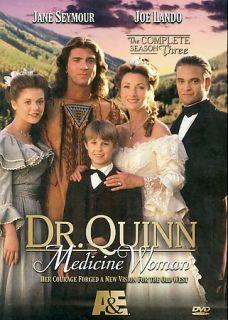 Dr. Quinn, Medicine Woman   The Complete Season 3 DVD, 2004, 8 Disc