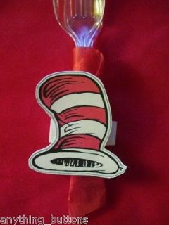 Dr. Seuss   Cat in the Hat (Hat) Napkin Ring Wraps   Birthday Party
