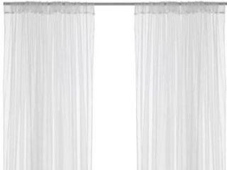 sheer drapes in Curtains, Drapes & Valances