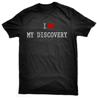 Discovery T Shirt for Land Rover owners/drivers choice colours & sizes
