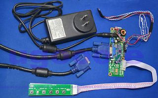 LVDS VGA Driver Controller Board Kit For 15.6 40pin 1920X1080 LED