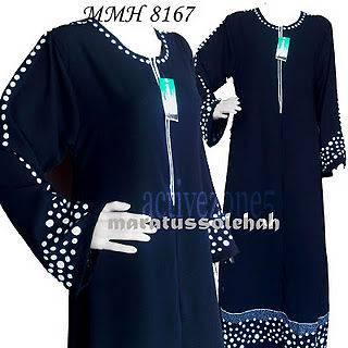 BLACK DUBAI ABAYA WITH EMBROIDERY JILBAB ISLAMIC CLOTHING FOR WOMEN