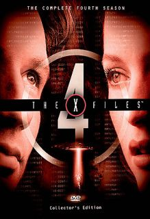The X FIles   The Complete Fourth Season DVD, 6 Disc Set, Pan and Scan