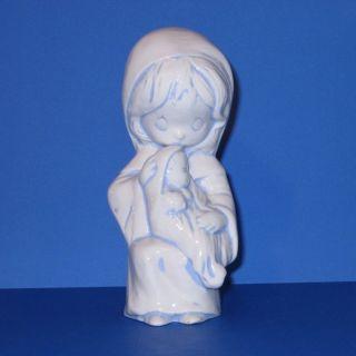 Mary Jesus Figurine Mother Baby Child Duncan Enterprise 1983 Christmas
