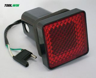 Hitch Cover Brake Light Standard 2 Receiver Ball Trailer Boat Tow