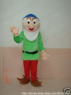 DWARF OF Snow White and the Seven Dwarfs MASCOT COSTUME