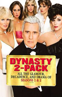 Dynasty   The Complete First Second Season DVD, 2007, Multiple Disc