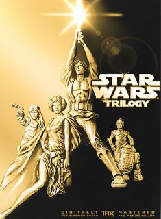 Star Wars Trilogy DVD, 4 Disc Set Pan Scan