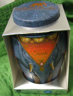 Williamson Earl Grey Fine Tea Elephant Tin Worlds Finest Tea 40 Count