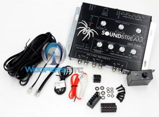 SOUNDSTREAM OEM INTEGRATION W/ BASS PROCESSOR FOR STEREO SUB AMPLIFIER