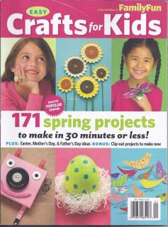 FUN EASY CRAFTS FOR KIDS MAGAZINE Easter Mothers Day Fathers Day