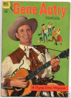 GENE AUTRY  73  COWBOY WITH GUITAR PHOTO COVER
