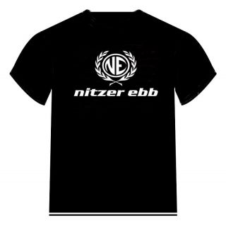 nitzer ebb Logo T Shirt ** Colour Choice **