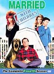 MarriedWith Children   The Complete Fourth Season DVD, 2005, 3 Disc