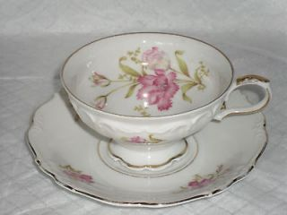 EDELSTEIN   BAVARIA     SHELBEY    CUP & SAUCER    2 AVAILABLE