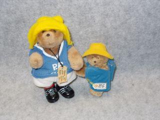 Eden Toy Plush Mini Stuffed Paddington Bear 1987 Doll P.B. Club Shirt