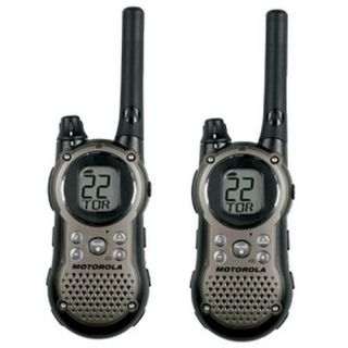 Motorola T9680RSAME 22Ch 28 Mile Two Way Weather Radios W/ S.A.M.E.