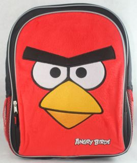 Newly listed NEW LICENSED PLUSH FACE ANGRY BIRDS BLACK RED 16 LARGE