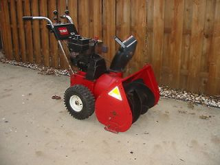 Toro HEAVY DUTY 6HP 24 2 STAGE SNOWBLOWER SNOW BLOWER READY FOR THE