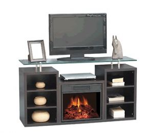 Kozy World Manhattan Electric Fireplace Heater / Entertainment Center