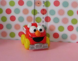 Sesame Street Elmo Fire Engine Toy Cake Topper 3sf Cake Topper