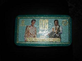 ELVIS PRESLEY METALLIC IMAGES COLLECTOR CARDS/SERIES 1