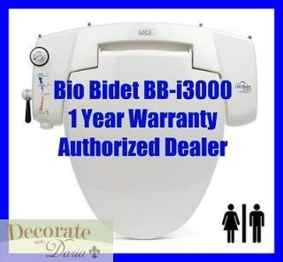BIDETS BB i3000 Universal Fit Toilet Seat Enema Jet Wash Hygiene New