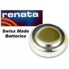 RENATA WATCH CELL BATTERY SWISS SILVER OXIDE 377 371 370 315 317