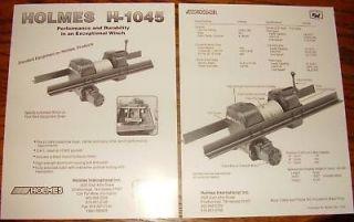 holmes wrecker parts in Parts & Accessories