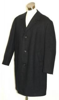 BLUE ~ WOOL Men GERMAN WINTER Long WARM LINING Trench Over COAT Jacket