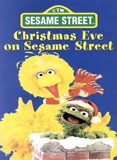 Sesame Street   Christmas Eve on Sesame Street DVD, 2002