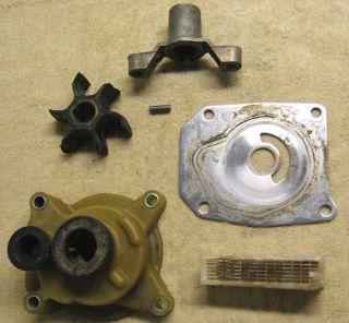 1979 Evinrude 55 hp Outboard Boat Motor Water Pump Parts