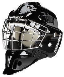 Bauer NME 3 Hockey Goalie Goal Face Mask Helmet Junior Black