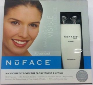 NuFace Facial Toning Rejuvenation Anti Aging Device