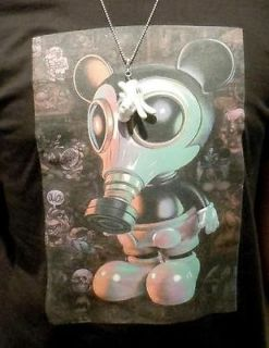 OBEY CLOTHING MOUSEMASK MURPHY & SKELETON RON ENGLISH T SHIRT MENS